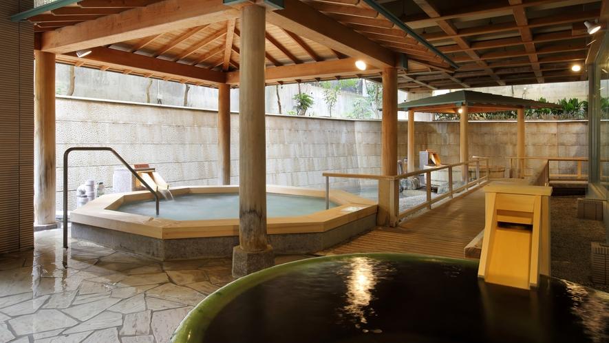 大浴場「白糸の美肌湯」_露天風呂