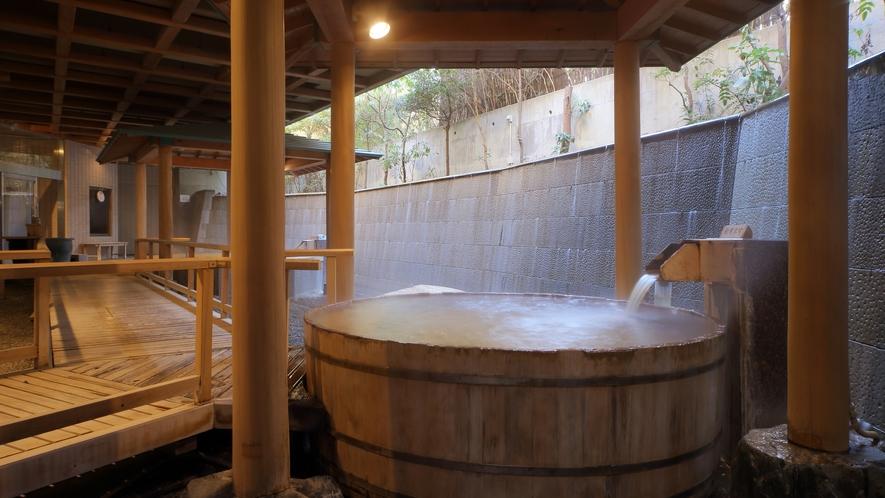 大浴場「白糸の美肌湯」_樽風呂