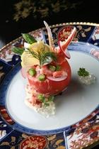 トマト 蟹ファルシー