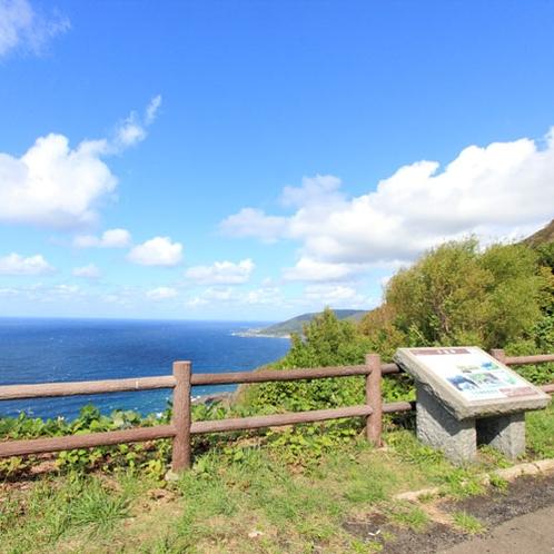 *男鹿半島では、雄大な日本海の景色が楽しめます!