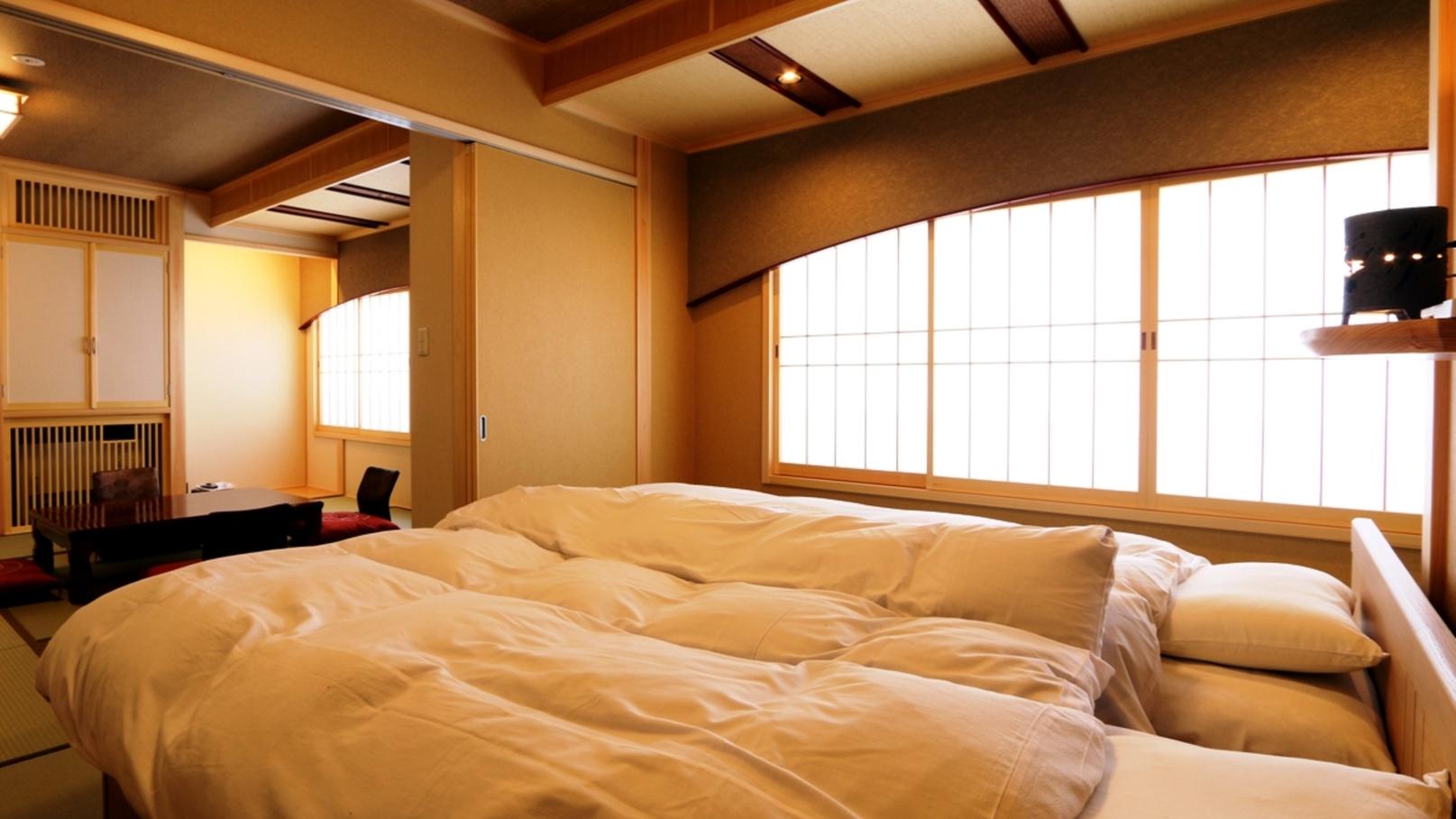 【部屋_特別室】竜胆のお部屋は和室とベッドルームのゆったり空間 (4)