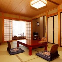 和室12畳のお部屋イメージです。