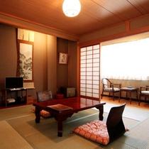 和室8畳のお部屋イメージです。