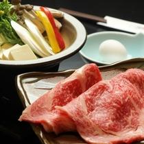 料理_夕食_すき焼き
