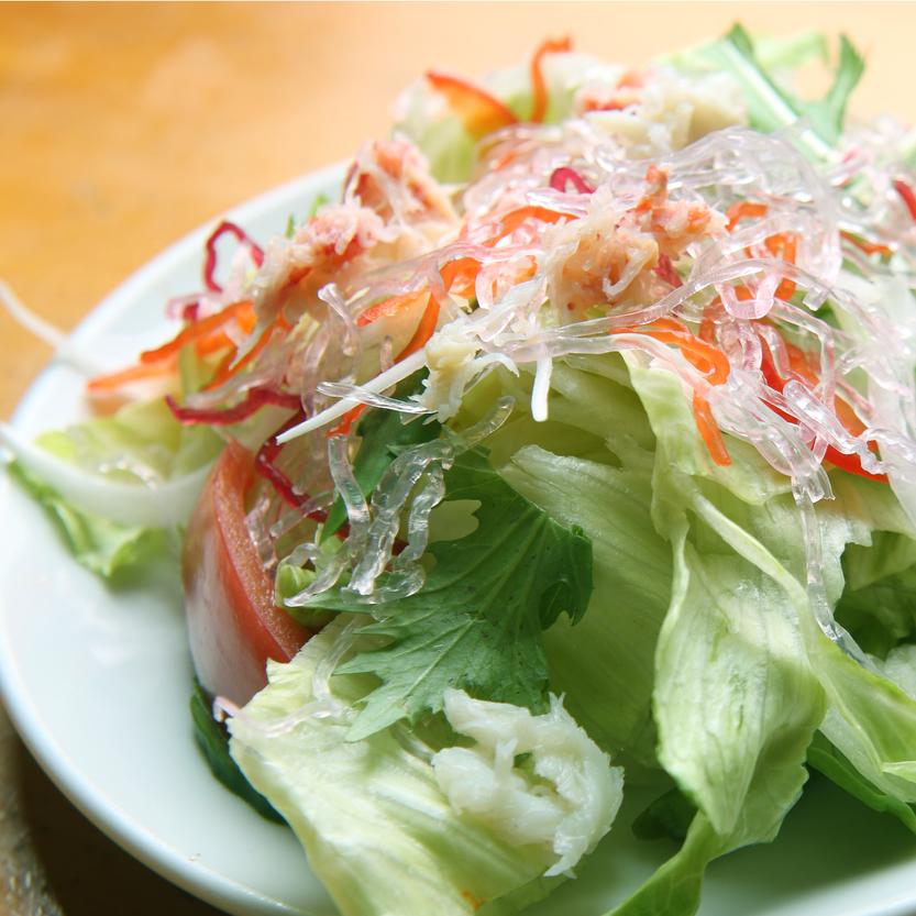 ◆朝食一例【新鮮サラダ】自家栽培している野菜を使っているから新鮮で安全です
