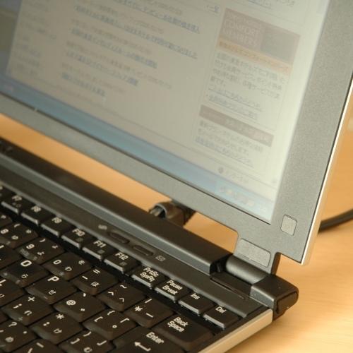 ノート式レンタルパソコン(イメージ)