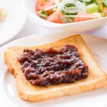 朝食ブッフェ(盛り付けの一例、イメージ)