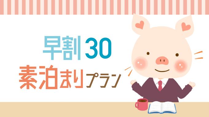 【さき楽30】30日前までの予約で20%オフ!シンプルステイ★12時チェックアウト<素泊り>