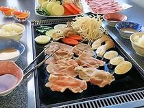 ★食べ放題★豚焼きしゃぶ(2人前例)