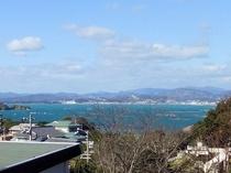 海の見える洋室 眺望2