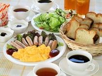 洋朝食(3人前例)