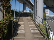 第1ターミナルからの道順3