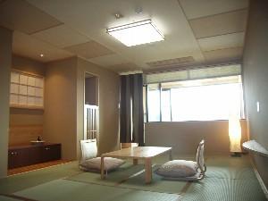 客室檜露天風呂付特別室
