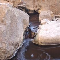 *露天風呂/北アルプスを臨む温泉施設。