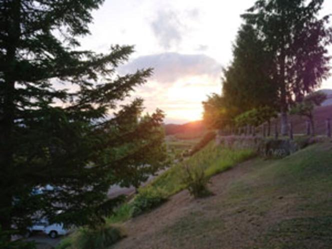 景観/夕暮れ時イメージ