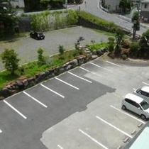 当館駐車場(真上から)