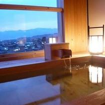 露天付客室風呂