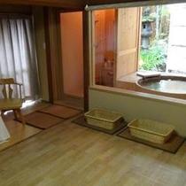 【貸切露天風呂】部屋付写真