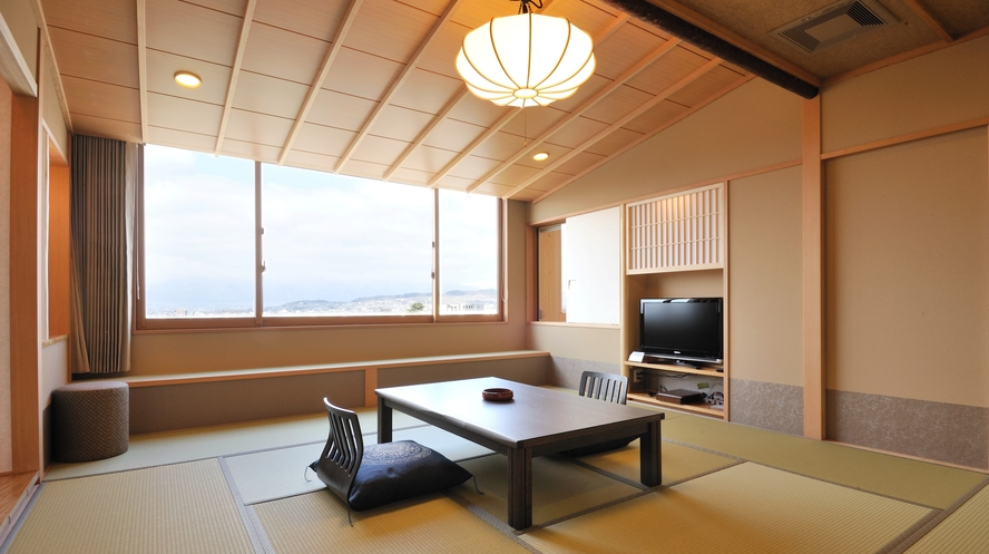 温泉露天風呂付客室 和室12.5畳