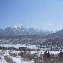 ★冬・白樺湖畔&蓼科山