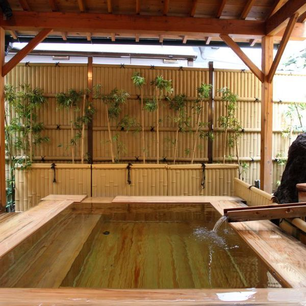 ■乙姫の湯 檜 露天風呂
