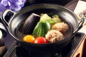 信州野菜のトマト鍋 2013/08〜09