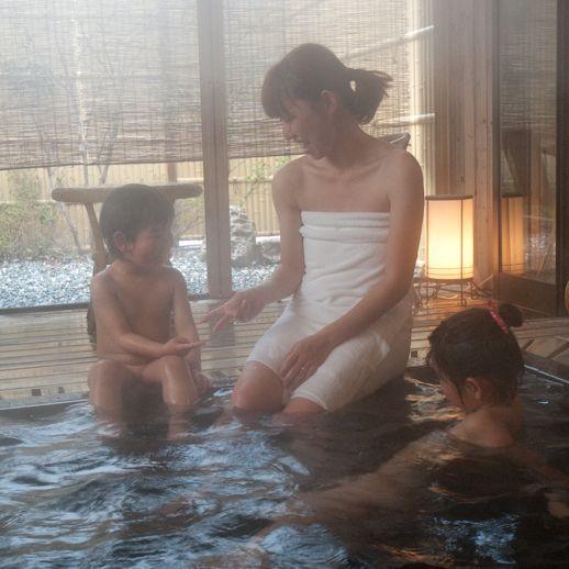 ■家族一緒にお風呂