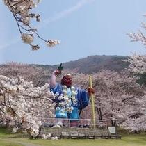 戸倉宿キティーパーク 桜
