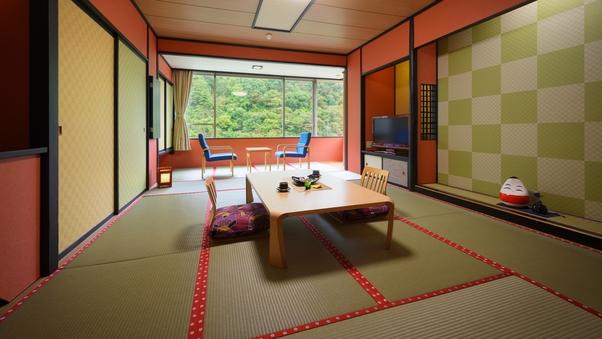 【禁煙室】大川渓谷を望める和室のお部屋