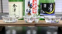 【地酒を飲み比べ】お好みのお酒が見つかるはず♪♪3種飲み比べ!