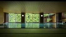 【大浴場】入浴しながら季節の移り変わりをお愉しみ頂けます
