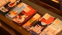 【お土産処・会津のれん】てぬぐいで出来た本。粋なお土産は如何でしょうか