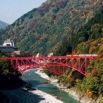 黒部峡谷 トロッコ電車