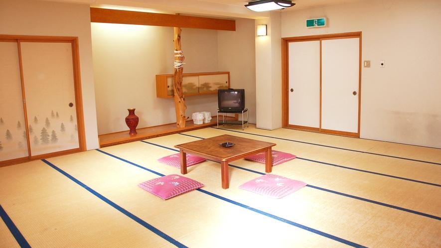 *[大部屋(和室)一例]共同トイレ&大浴場近くて便利!6名~ご予約可能な和室21畳の客室