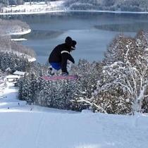 スキー場 ボード