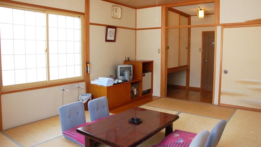 *[和室一例]足を伸ばして寛げる♪バストイレ付和室10畳の客室
