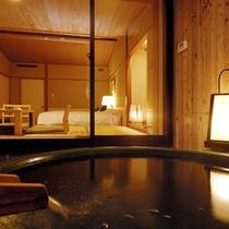 和洋室【露天風呂付】