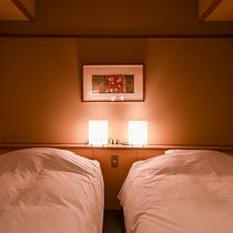 *【客室:一例】ツインルーム(山側)