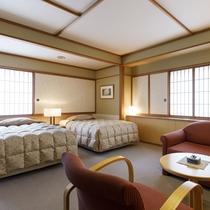 【客室一例】レギュラーツインルーム(バストイレ付)