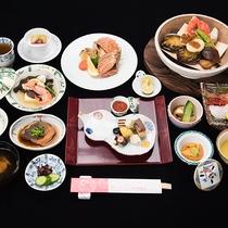 *【夕食:一例】贅沢食材をふんだんに使ったグレードアップ夕食
