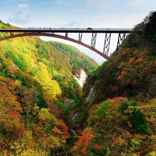 観光地:磐梯吾妻スカイライン ドライブに最適なビュースポットとして多くの人が景観を見に訪れます。