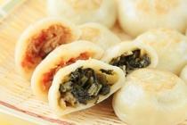 長野の郷土料理「おやき」です