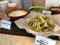野沢菜の天ぷら