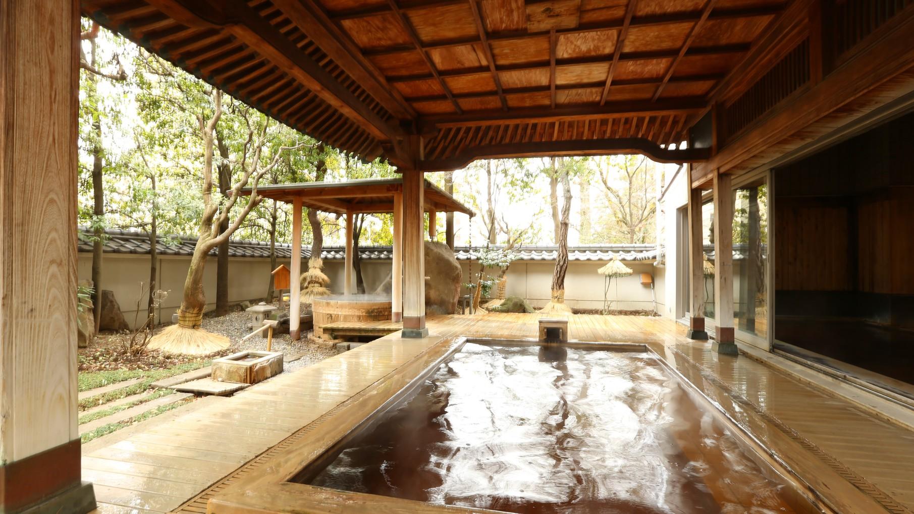 霊泉さぎの湯 大露天風呂