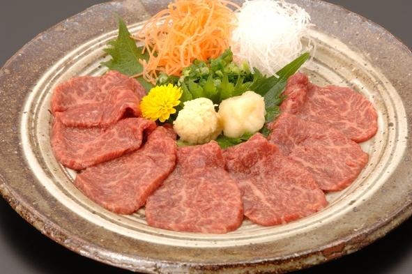 【地産地消】信州牛VS馬刺し(桜刺し)食べ比べプラン