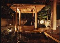 天然温泉かけ流し露天風呂