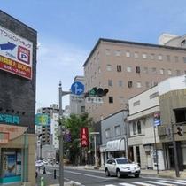 【アクセス】駅→スマイルホテル④【南千歳交差点】