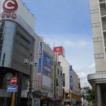 【アクセス】駅→スマイルホテル③【C one様前】