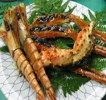 海老・蟹焼き