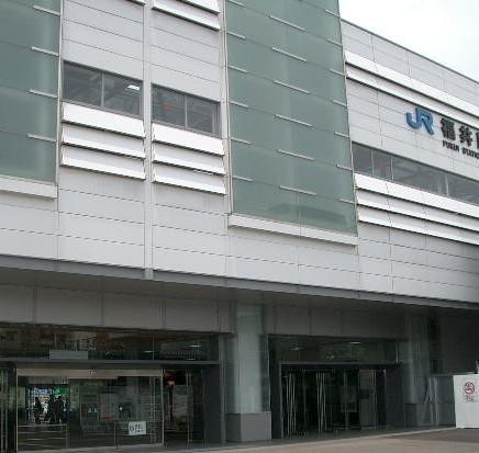 JR福井駅東口まで徒歩1分!フロントに時刻表もございます